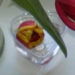 Тюльпан в бокале.