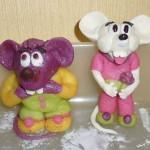 Двое мышей.