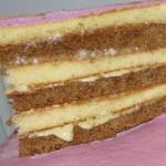 Тортика кусочек.