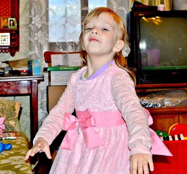 Принцесса танцует.