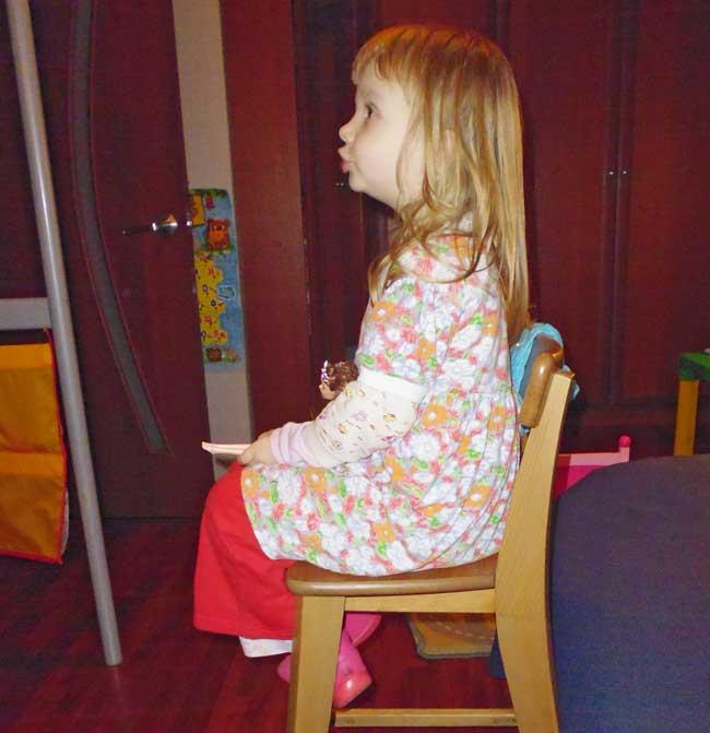 Настин любимый стул.