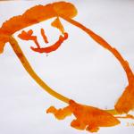 Оранжевый человечек.
