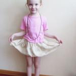 Настя балерина.