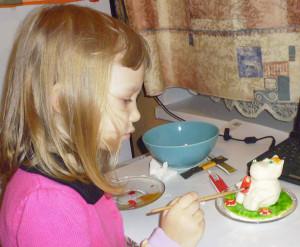 Делаем фигурку на торт.