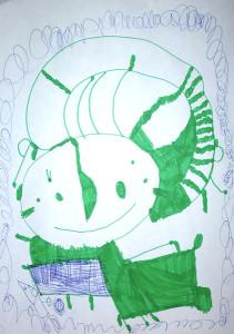 Зеленая леди.